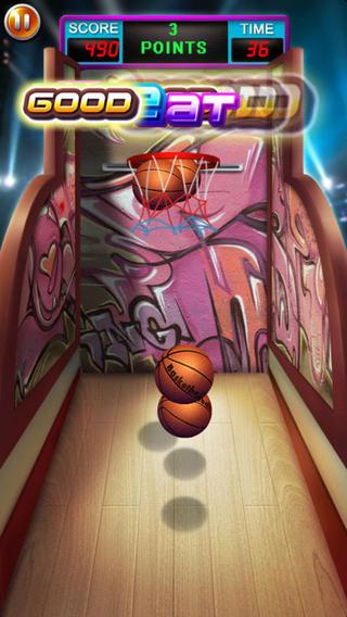 口袋篮球游戏截图2