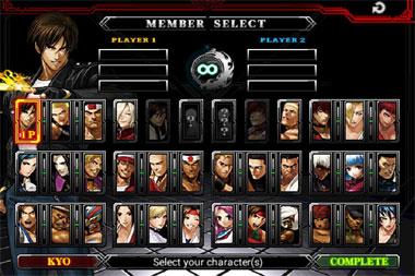 KOF拳皇2012游戏截图1