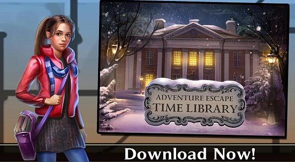 冒险逃生-时间图书 馆游戏截图1