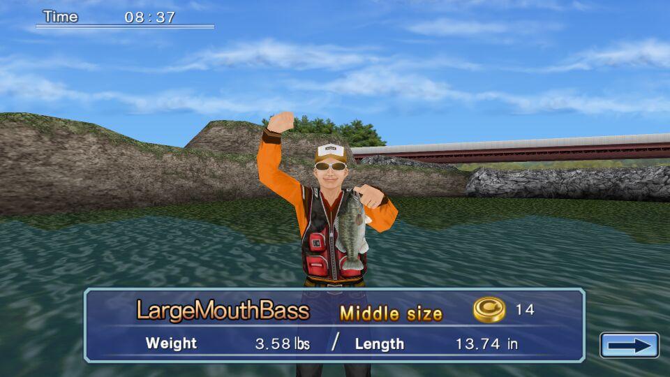 钓大鱼游戏截图1