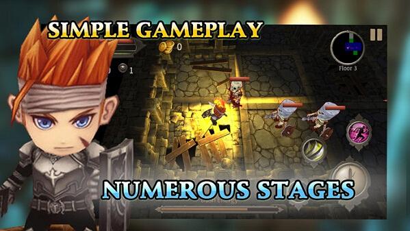 地牢迷宫游戏截图3
